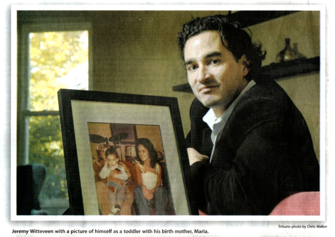 Adoption Story was featured in the Chicago Tribune