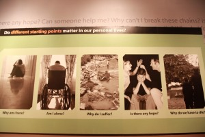 "One of many superfluous guilt inducing, fear tactics employed at the Creation ""Museum"""