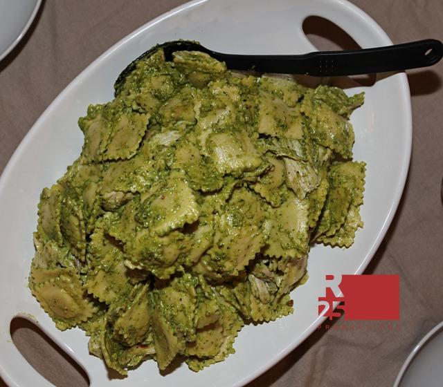 Michael Serafini's lemon pesto with grilled chicken