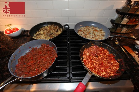 Cooking Non-Sloppy Sloppy Joes and Potatoes