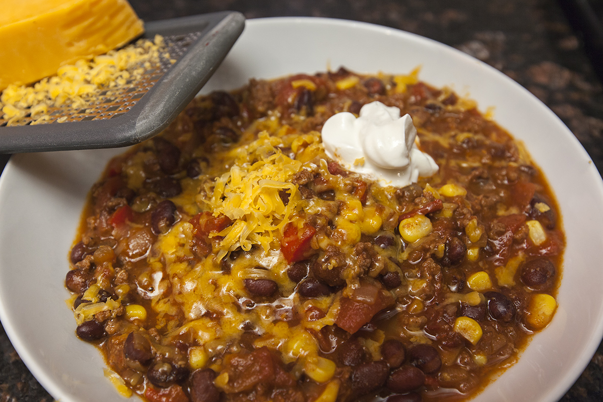 Cooking for two: Smoky Southwestern Chili with Chipotle ...