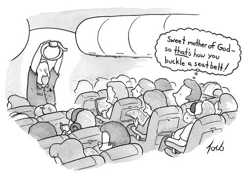 Airplane Funny Cartoon