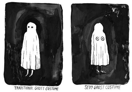 Sexy male ghost