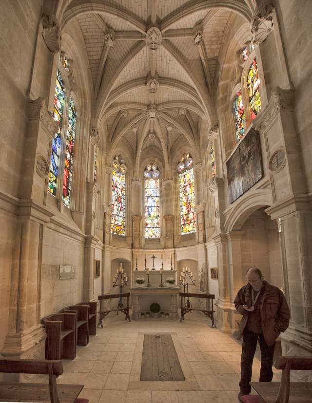 chapel in chenonceau