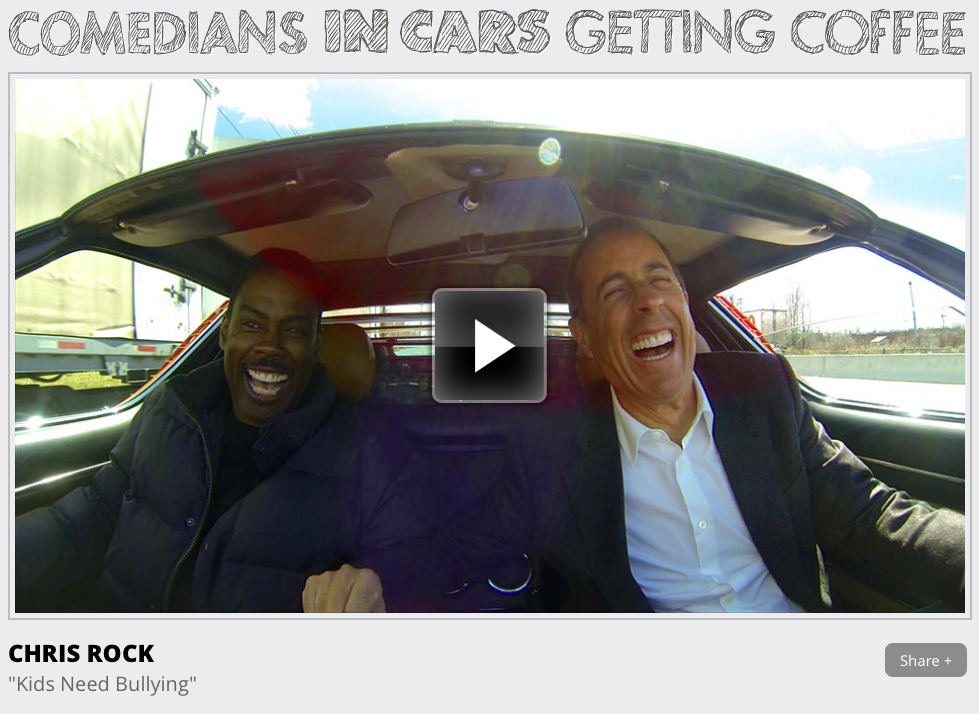 Comedians Driving In Cars Getting Coffee