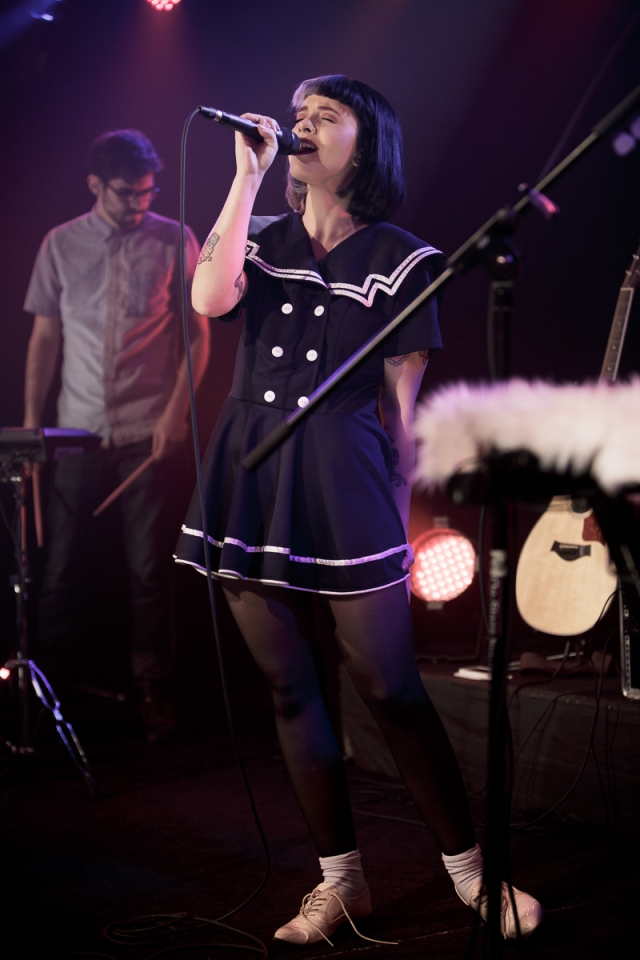 Melanie Martinez performs at JBTV Music Television on February 1